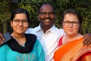 Rajat, Annegret and Asha